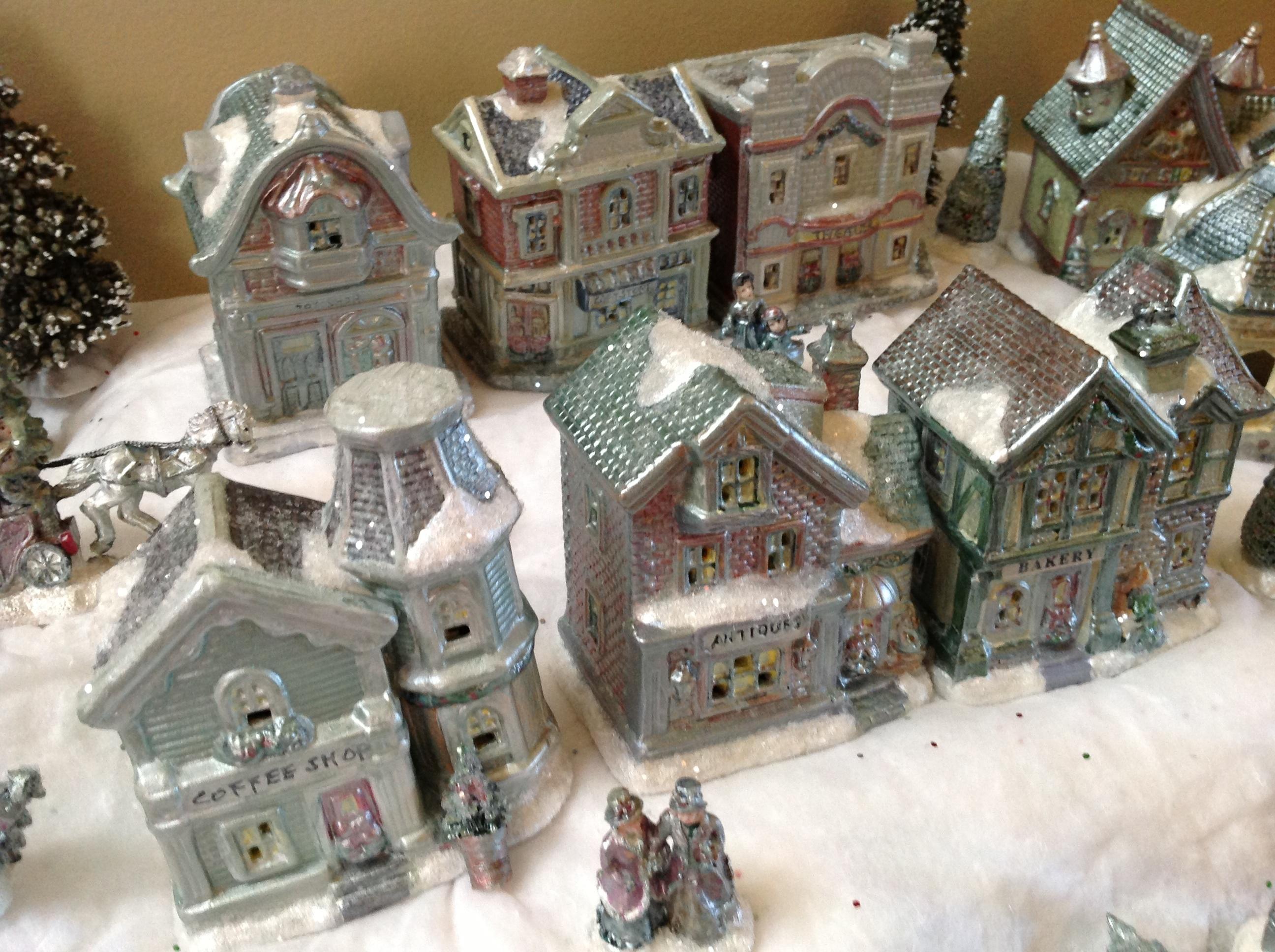 """Vintage"" Christmas Village (Dollar Store Craft!) | A ..."